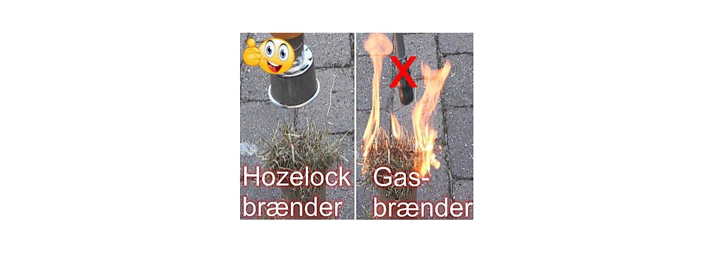 Ulemper ved en gas ukrudtsbrænder